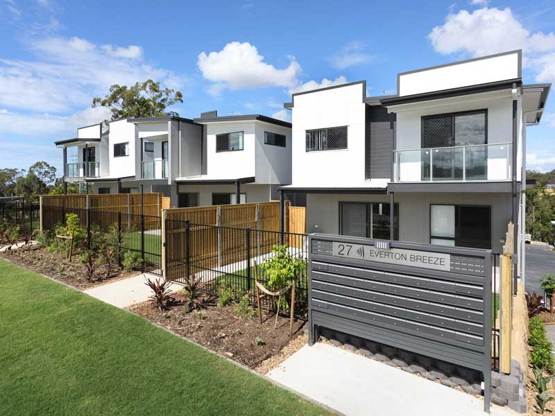 Townhouse Development by AR Developments at Everton Hills