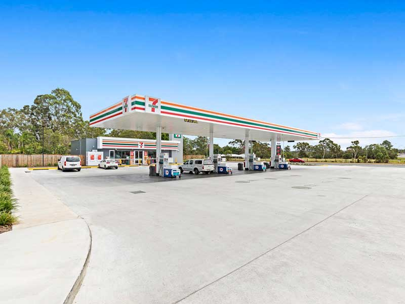 Service Station at Burpengary East